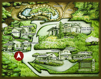 Valmore map